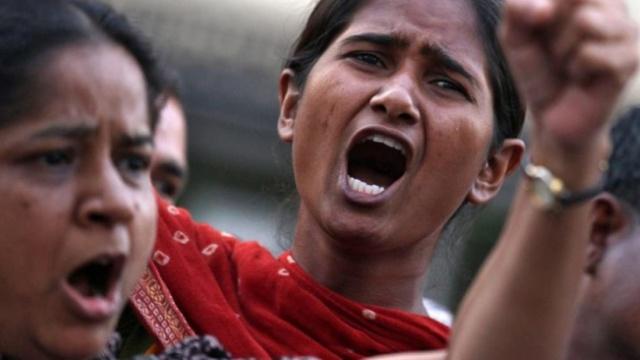 愤怒!印度女子3年内两度遭轮奸