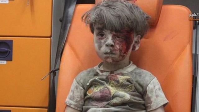 战火中的叙利亚儿童