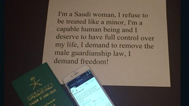 """""""我的罪过就是生而为沙特女人"""""""