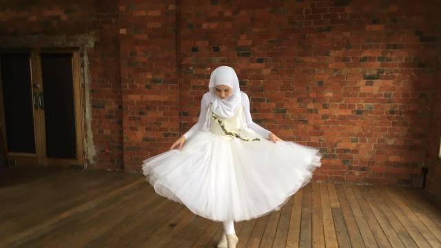 14岁穆斯林少女的芭蕾梦