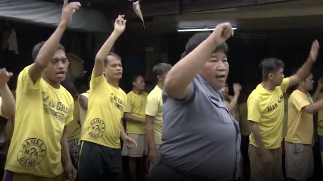 菲律宾监狱用跳舞帮犯人改过自新