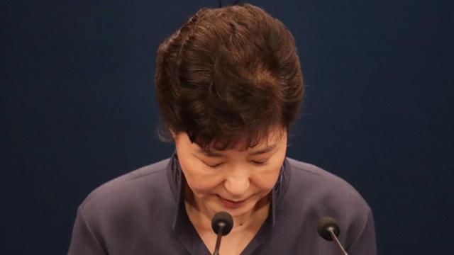 朴槿惠:此次闺蜜门事件责任在我