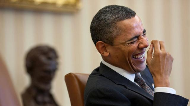 """你们要的奥巴马再当一届""""来""""啦"""