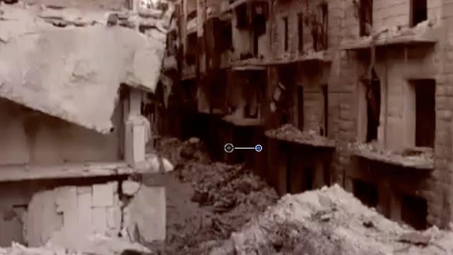 废墟中的家园:叙利亚阿勒颇航拍