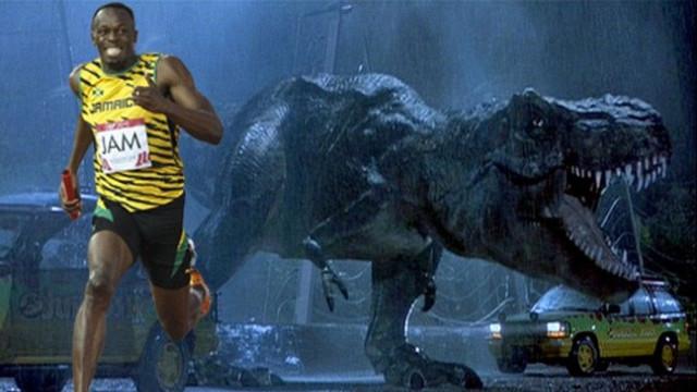 博尔特跑得比恐龙还快?!