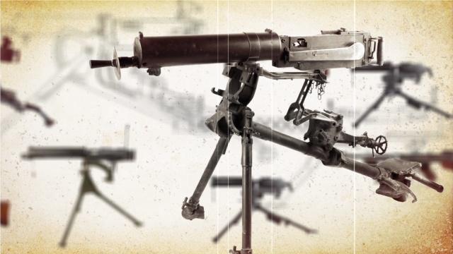 200秒机枪史:让子弹倾如雨下!