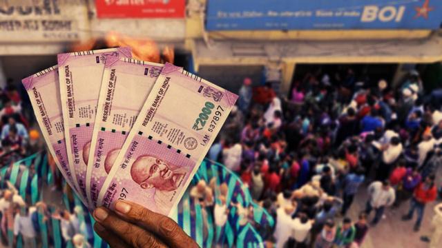 直击印度:废钞换钞,国家级大冒险
