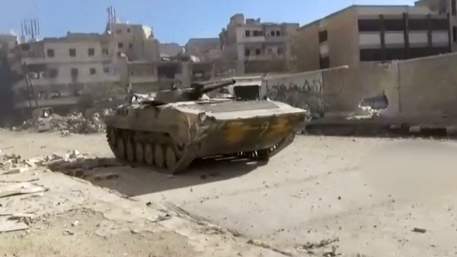叙政府军进阿勒颇旧城,5年最大胜利