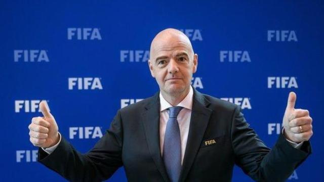 FIFA主席因凡蒂诺建议世界杯扩军