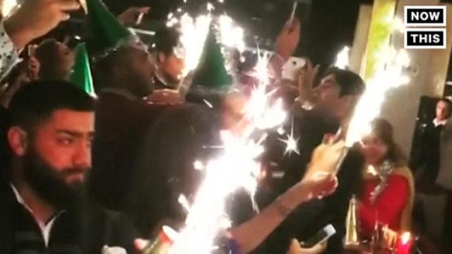 土耳其恐袭现场新年夜倒数视频曝光