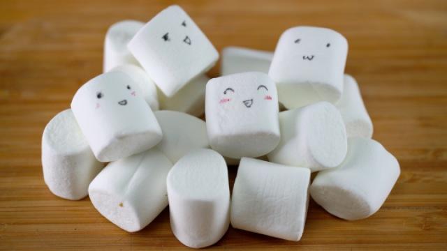 拿棉花糖做下午茶甜品