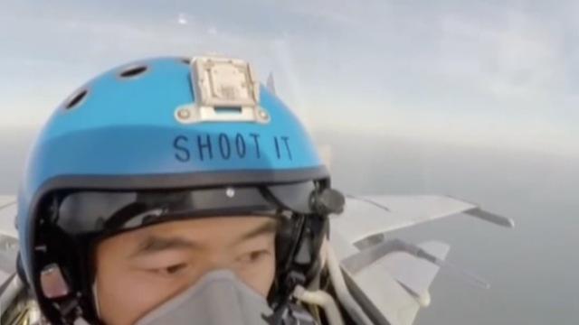 揍他?飞行员头盔上SHOOT IT啥意思