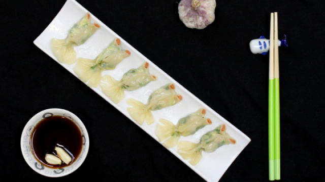 像鱼的饺子,你见过吗?