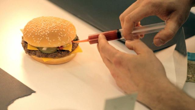 麦当劳里的汉堡为什么和广告不一样