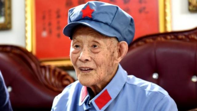 革命一辈子!107岁红军彭焕生逝世