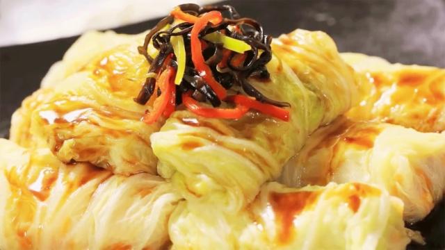 黄金至尊白菜卷征服元宵节的餐桌!