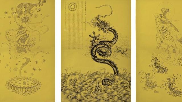 13年画192米钢笔长卷,创吉尼斯记录