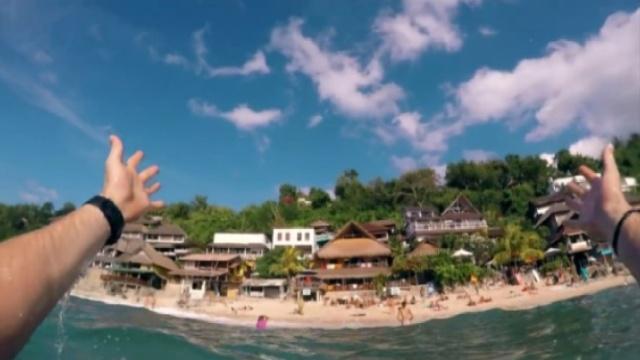 看完之后就想去超美的海边