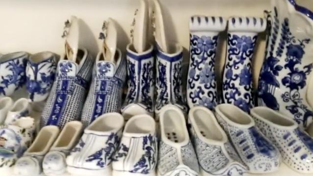 81岁鞋控!上海奶奶收藏1300双鞋