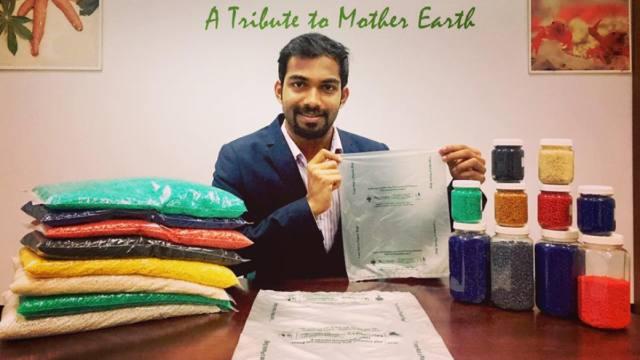 印度又有神发明:塑料袋能吃了