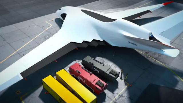 战斗民族的新概念运输机