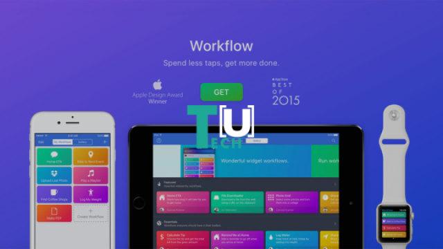 苹果收购神级效率应用Workflow