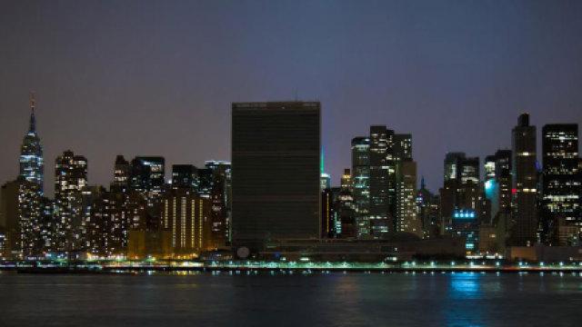今晚,和联合国一起熄灯一小时