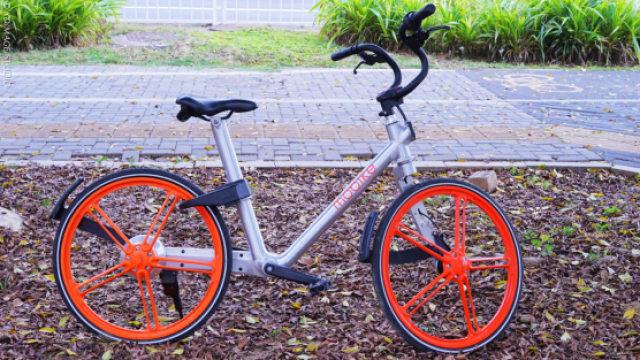 共享单车的鼻祖摩拜单车原来长这样