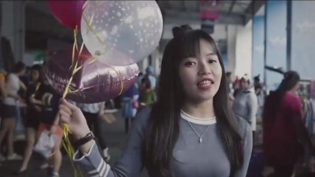 女生版《告白气球》甜化心