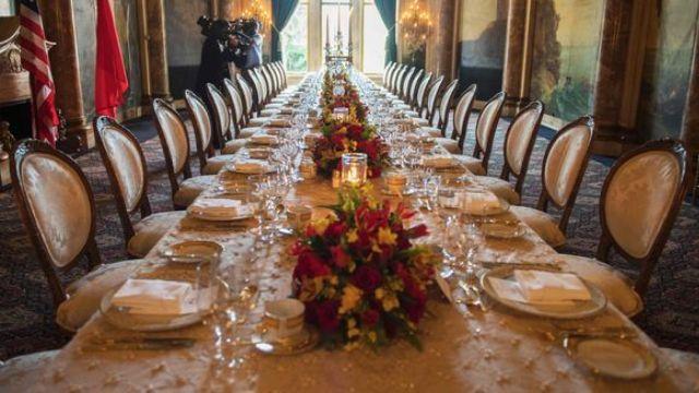 揭秘海湖庄园:国宴到底吃什么?
