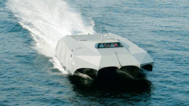 航速40节的国产航母克星