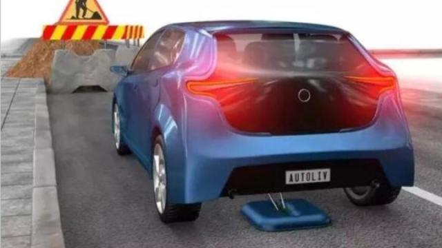 在汽车底盘装个吸盘 减少事故发生