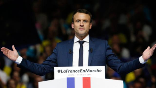 大咖|选总统选出个法兰西爆款男神