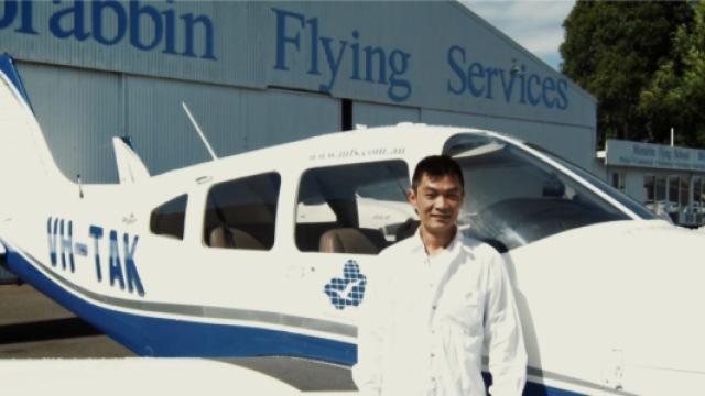 36岁转行学飞行,他成为中国鸟人