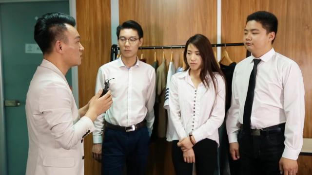 北京国贸办公室白领变装记
