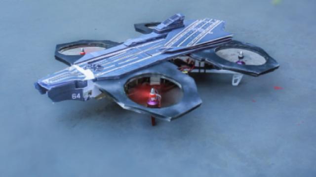 小伙500元造无人机,直逼空天母舰