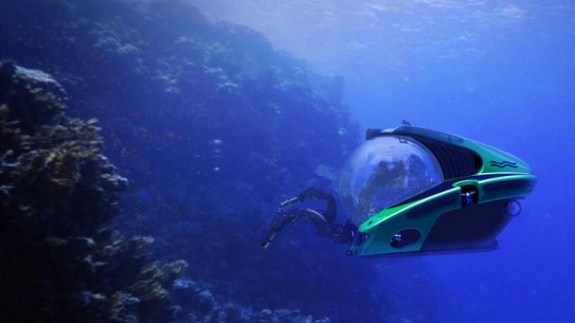一起找尼莫:球形潜水艇探深海奥秘