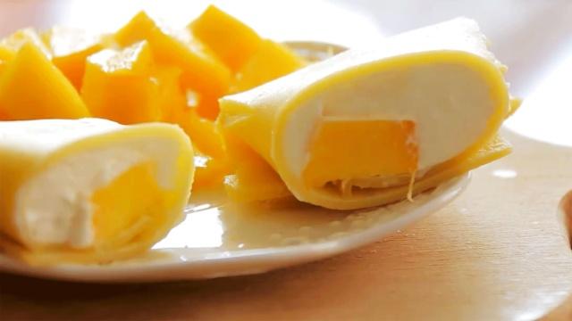 简单好吃的港式甜品—芒果班戟