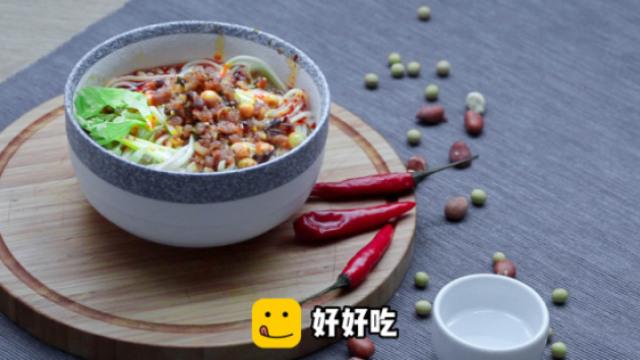 试试这道肉末凉拌面,好吃又简单!