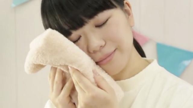 毛巾柔软舒适,告别硬硬的质感~
