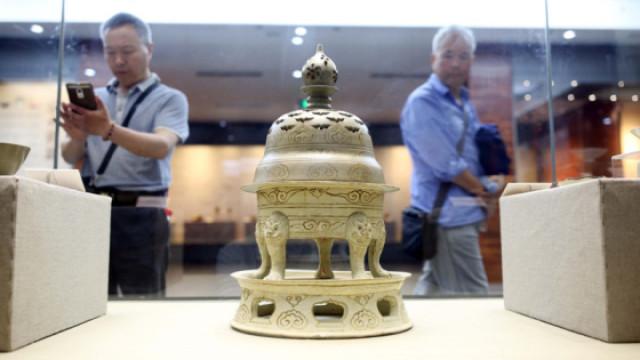 杭州市民走进博物馆走近历史