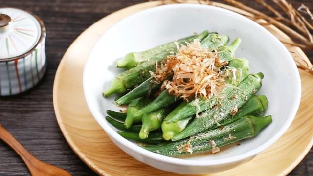 日式凉拌秋葵,夏天必备开胃菜!