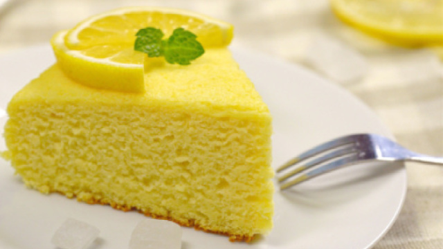 DIY冰爽柠檬酸奶蛋糕!