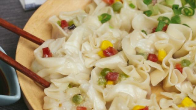 饺子皮的花样吃法,简单又实用!