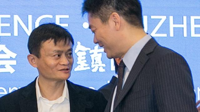 马云第一次见刘强东:啊,你这么小