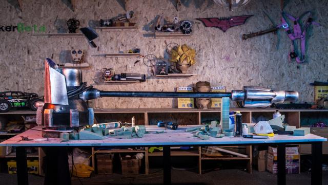 直播:黑科技,神奇实验室造漫威武器