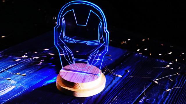 DIY超级英雄夜灯!