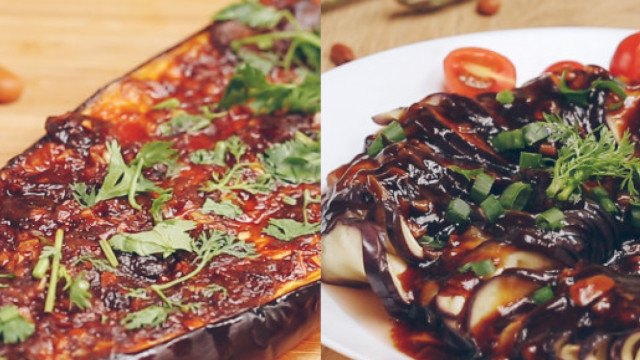 茄子的两种新吃法,上桌就被吃光!