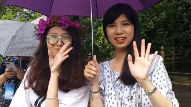 台湾青年感受神奇腾冲