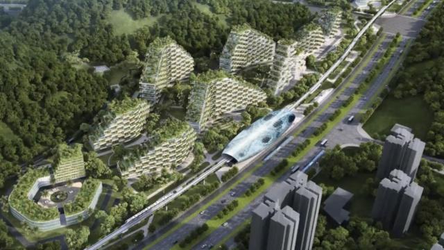 中国拟建森林城市,外媒赞史无前例